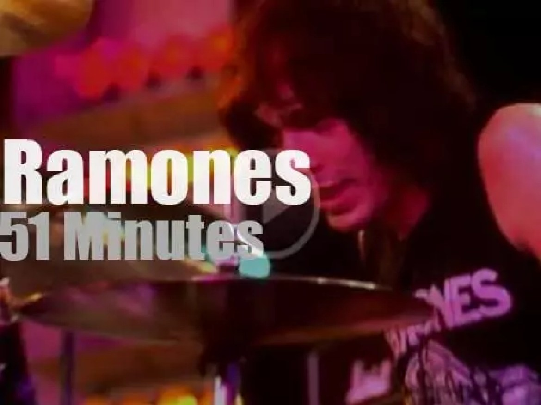 The Ramones visit Germany (1978)