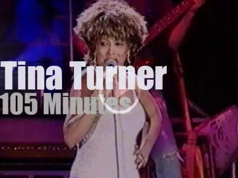 Tina Turner rocks San Bernadino (1993)