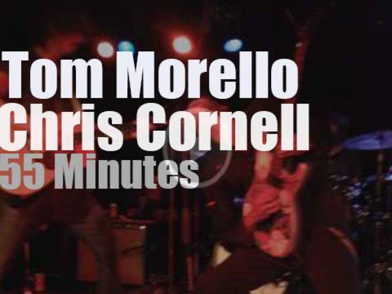 Tom Morello teams up with Chris Cornell (2014)