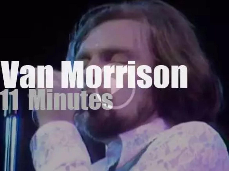 Van Morrison sings at Fillmore East (1970)