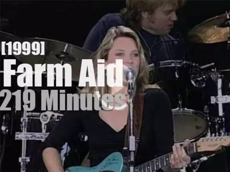 Willie, Neil, Keb et al are at Farm Aid (1999)