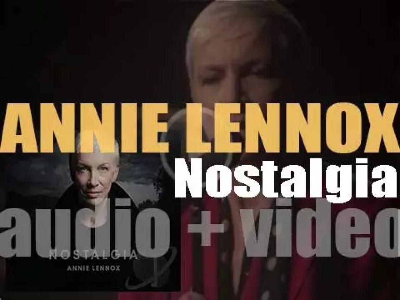 Annie Lennox releases her sixth album : 'Nostalgia' (2014)