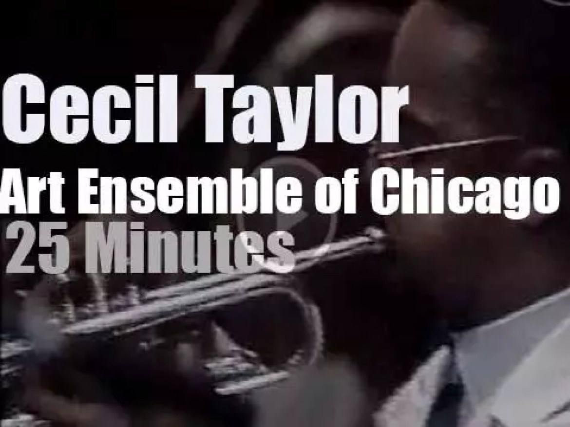 Cecil Taylor  sits in with the Art Ensemble Of Chicago (1984)
