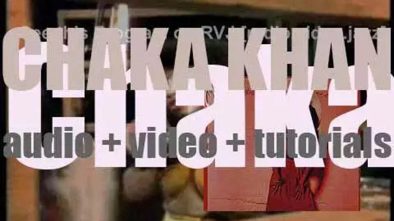 Warner Bros. publish Chaka Khan's debut solo album : 'Chaka' featuring 'I'm Every Woman' (1978)