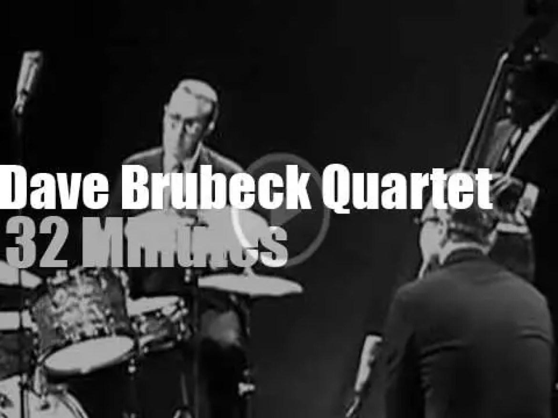 On Belgian TV, the Dave Brubeck Quartet (1964)