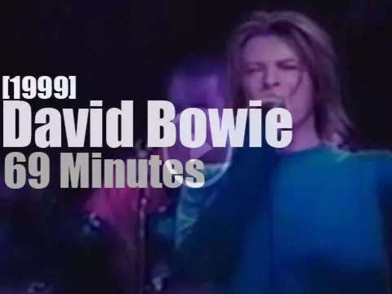 David Bowie visits Paris (1999)