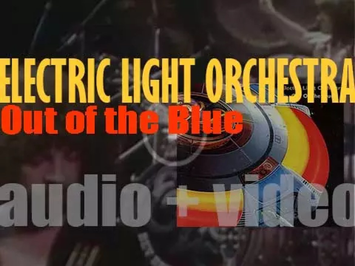 Electric Light Orchestra 's 'Out of the Blue' their seventh album featuring 'Turn to Stone' 'Mr. Blue Sky,' 'Sweet Talkin' Woman' and 'Wild West Hero' (1977)