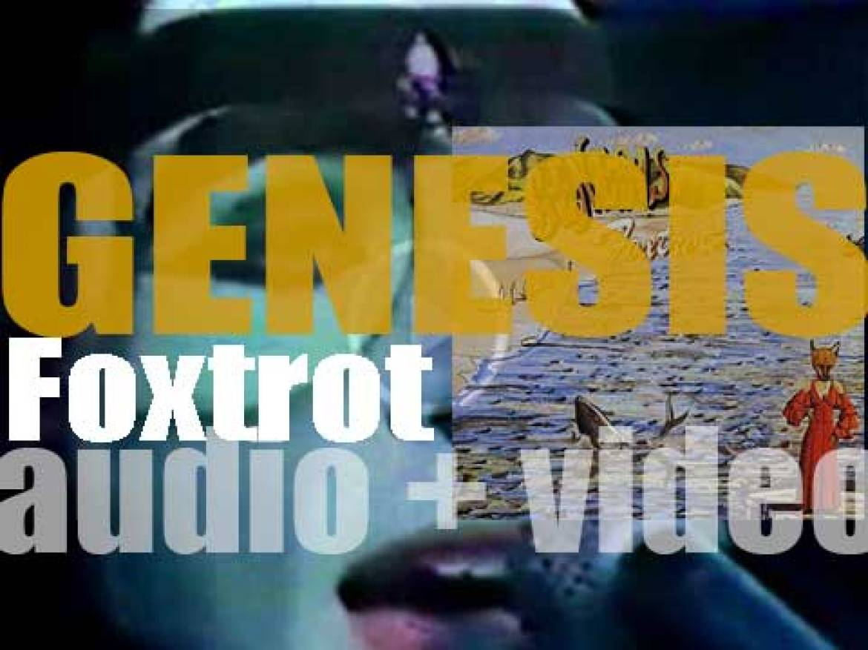 Charisma Records publish Genesis' fourth album : 'Foxtrot' (1972)