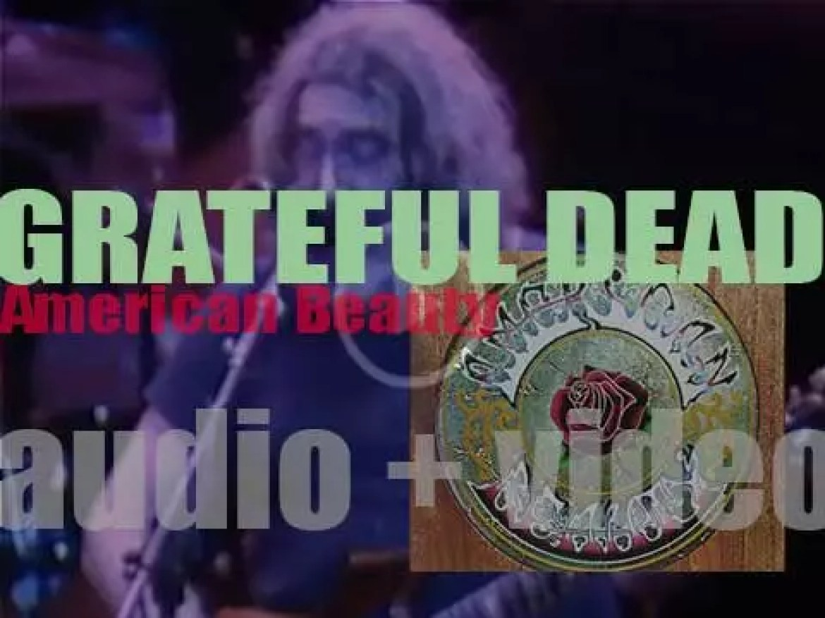 "Grateful Dead release their fifth studio album 'American Beauty' featuring 'Truckin"" and 'Ripple' (1970)"
