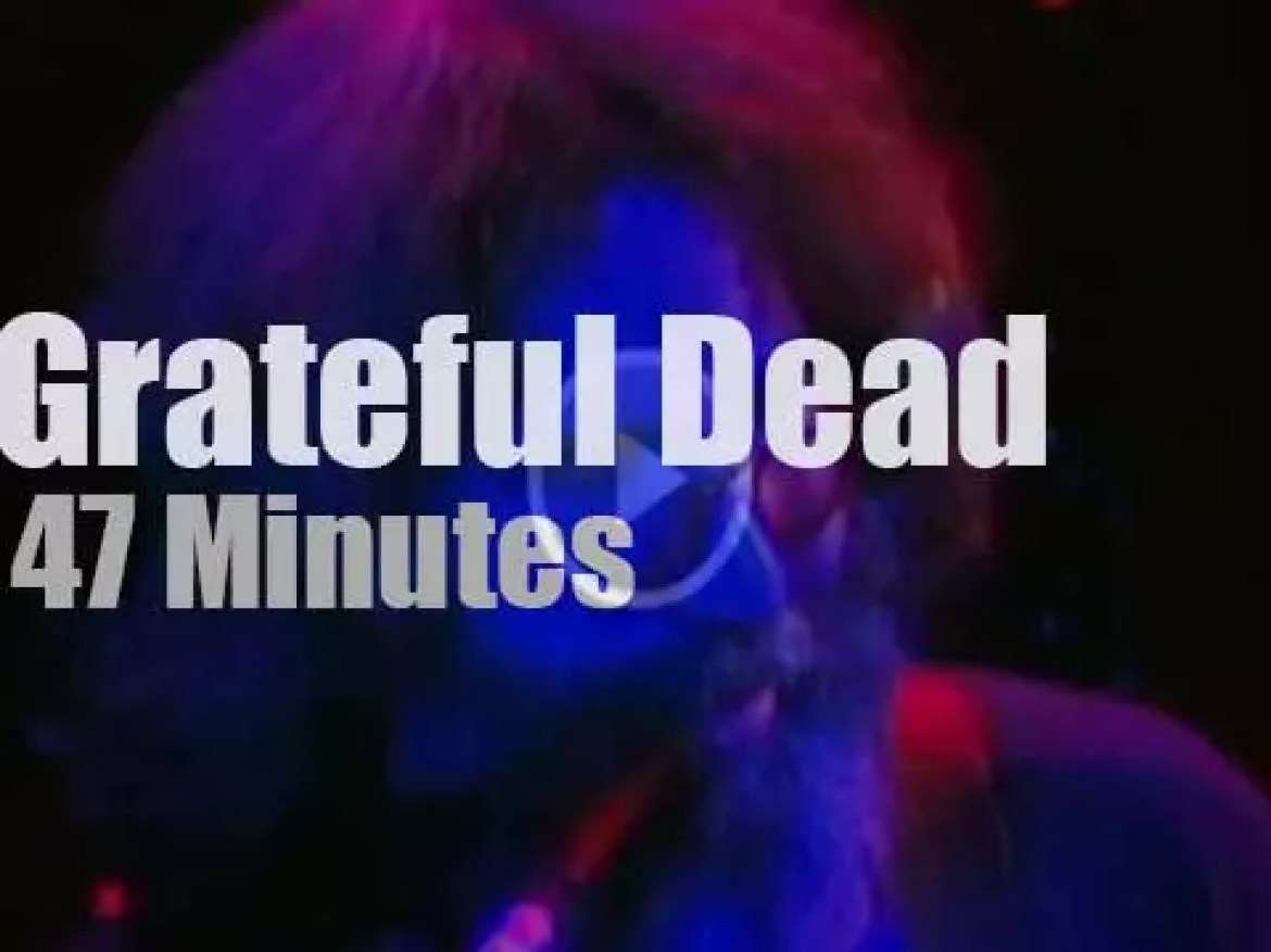 Grateful Dead close a residence in SF  (1980)