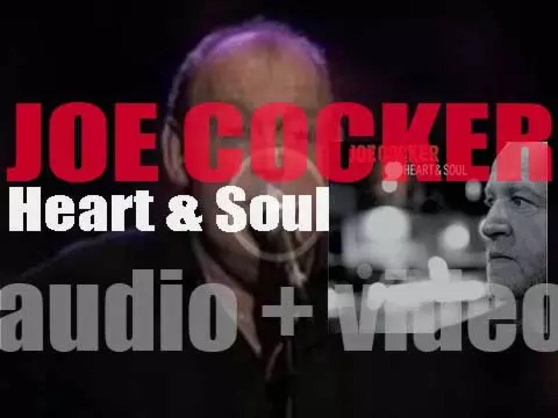 Joe Cocker releases his nineteenth album : 'Heart & Soul' (2004)