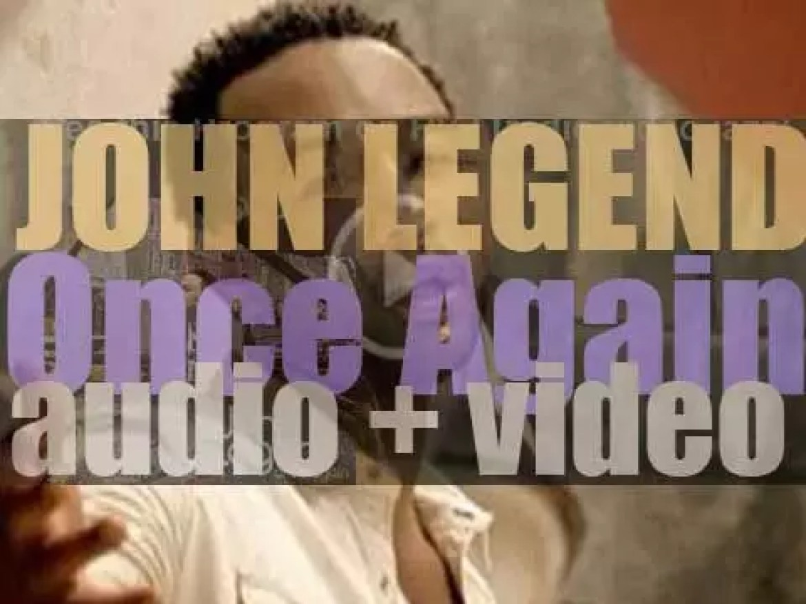 John Legend releases 'Once Again,' his second album featuring 'Heaven' and 'Save Room' (2006)