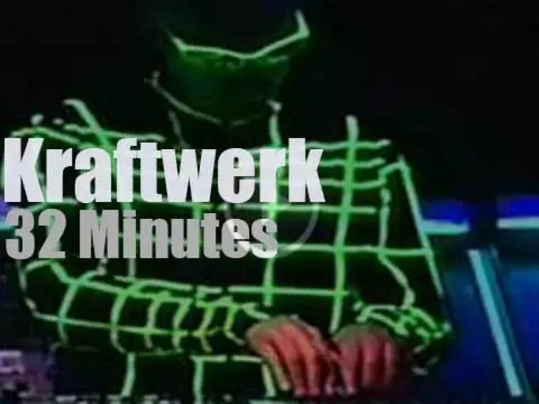 Kraftwerk take the train to Rio (1998)