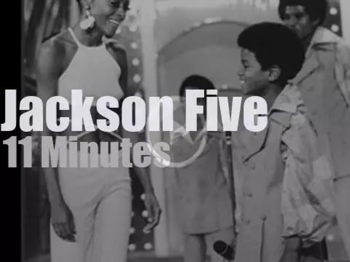 On TV, Diana Ross with the Jackson 5 (1969)