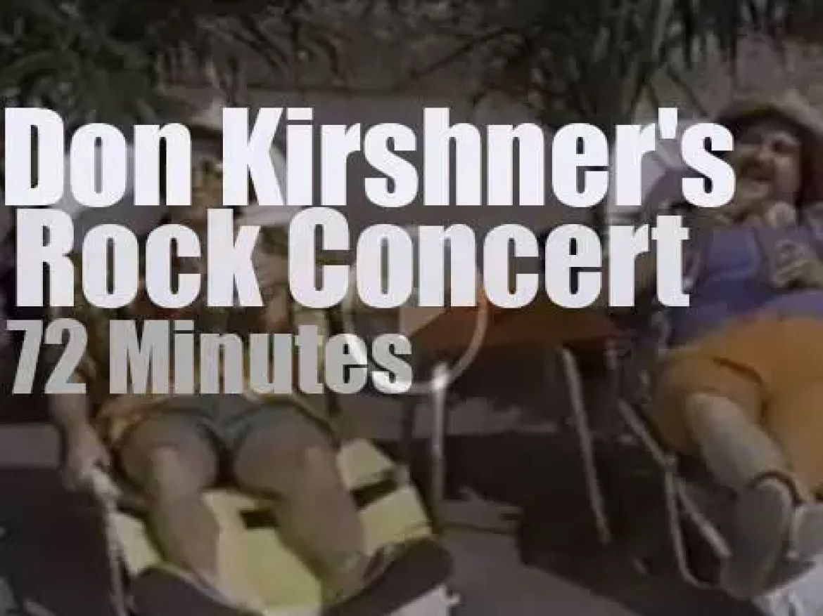 On TV today, ABBA & Ohio players at 'Don Kirshner's New Rock Concert' (1976)