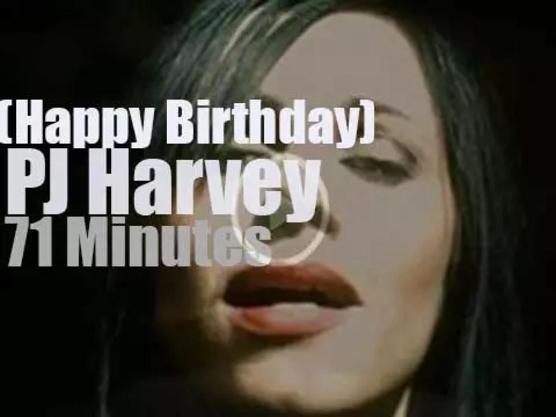 Happy Birthday PJ Harvey