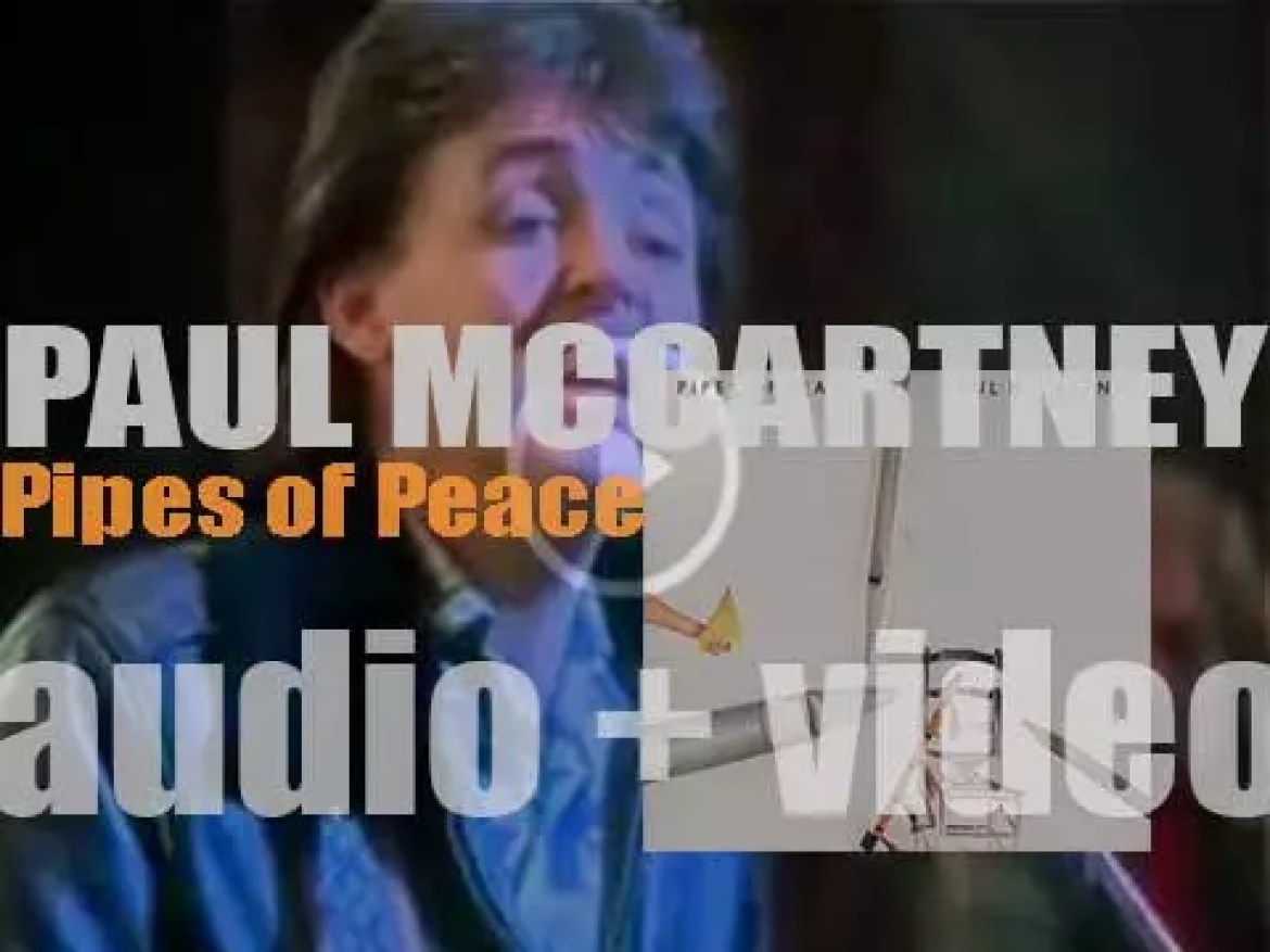 Paul McCartney releases his fourth solo album : 'Pipes of Peace' featuring 'Say Say Say' (1983)