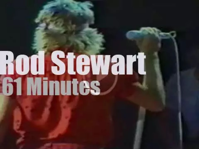 Rod Stewart rocks Frankfurt (1980)