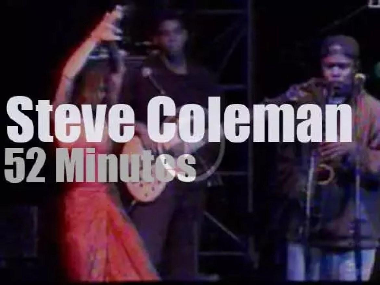 Steve Coleman leads Five Elements in Nancy (1996)