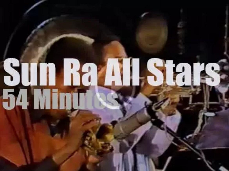 Sun Ra takes his All Stars+ Arkestra to Berlin (1983)