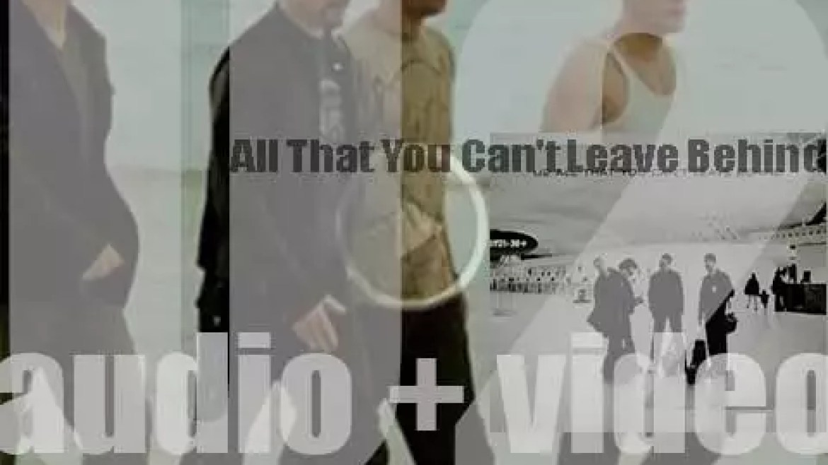 U2 release their tenth album : 'All That You Can't Leave Behind' featuring 'Beautiful Day' and 'Elevation' (2000)