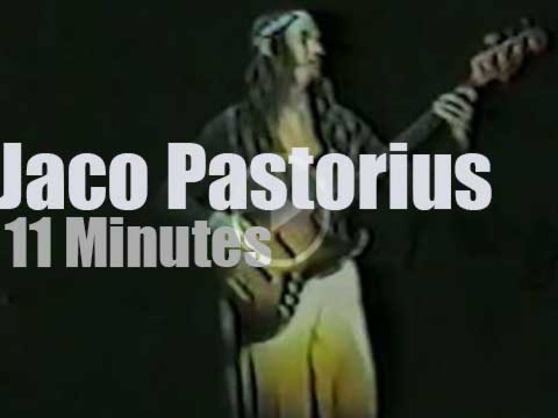 Jaco Pastorius  soloes in Washington (1978)