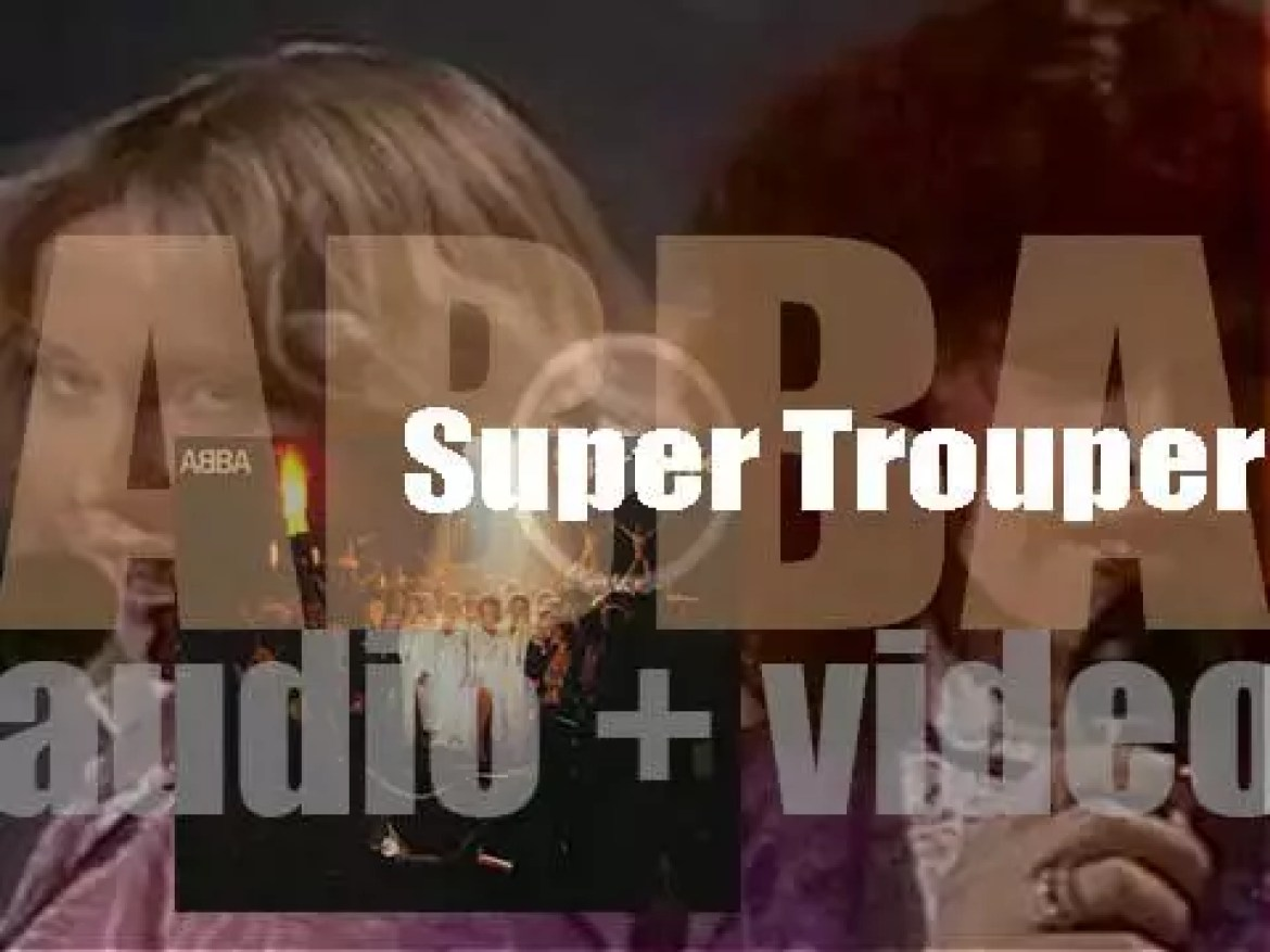 ABBA release their seventh album : 'Super Trouper' featuring 'The Winner Takes It All' (1980)