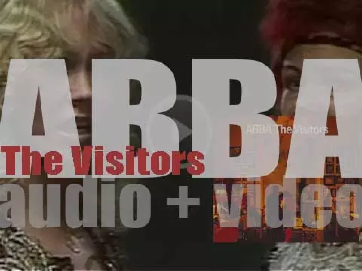 ABBA release their eighth album : 'The Visitors' featuring 'One of Us' (1981)