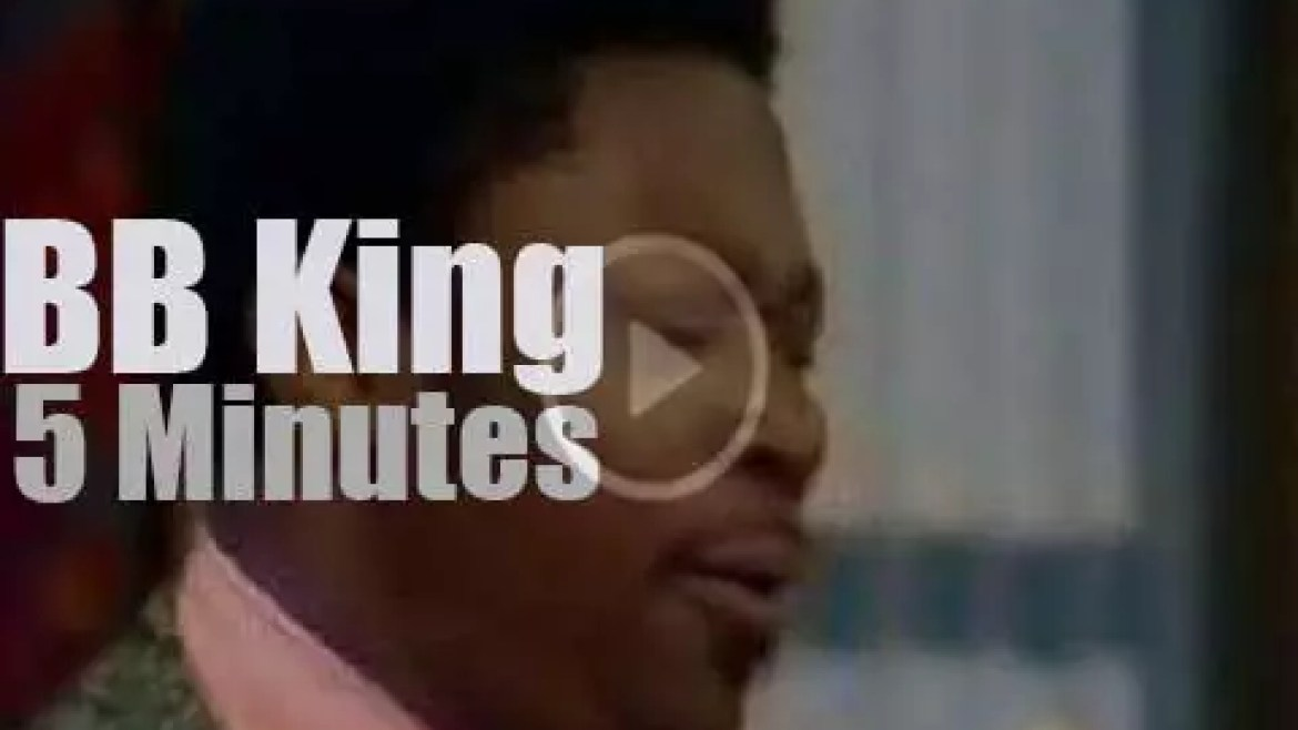 On TV today, B.B. King at 'Rollin' On The River' (1971)