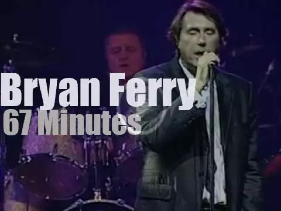Bryan Ferry holds a 'Session' in Basel (2003)