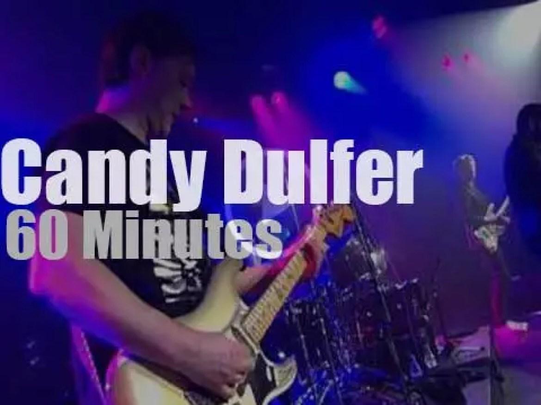 Candy Dulfer & Band are at 'Leverkusener Jazztage' (2013)