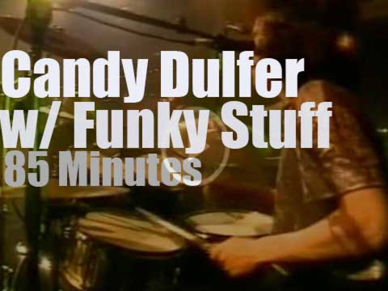 Candy Dulfer funkifies Amsterdam (2000)