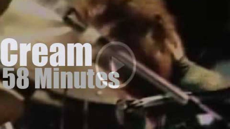 Cream give a 'London Farewell Concert' (1968)