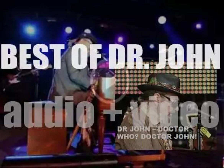 We remember Dr John. 'Doctor Who? Doctor John!'
