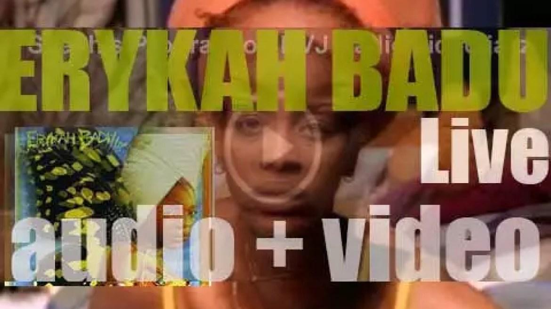 Kedar publish Erykah Badu's 'Live' album (1997)