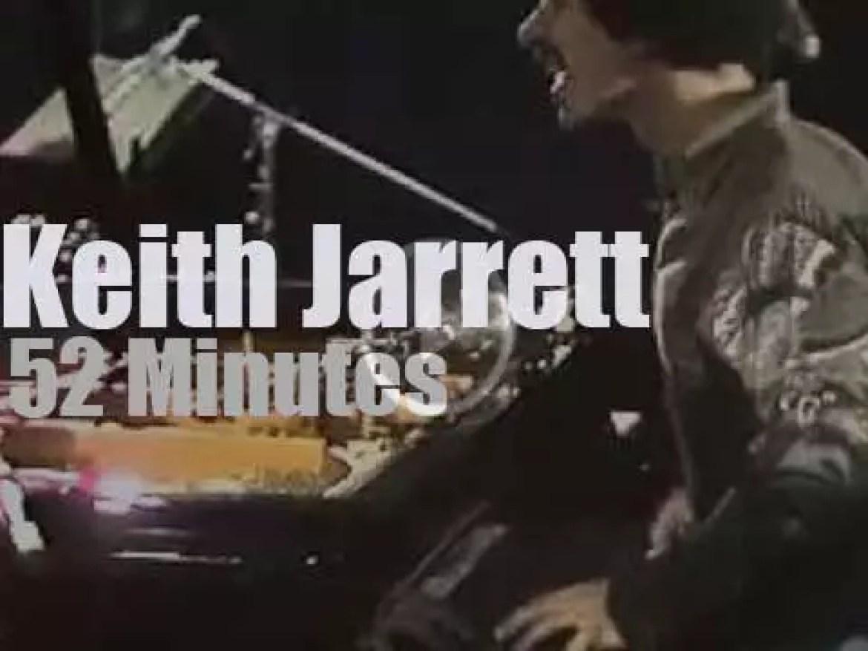Keith Jarrett plays at 'Berliner Jazztage' (1973)