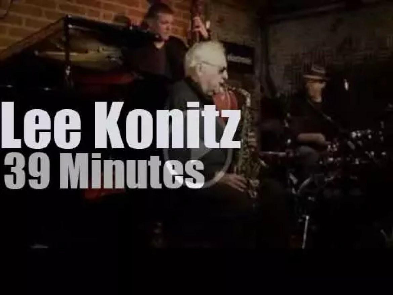 Lee Konitz goes to a Paris club (2014)