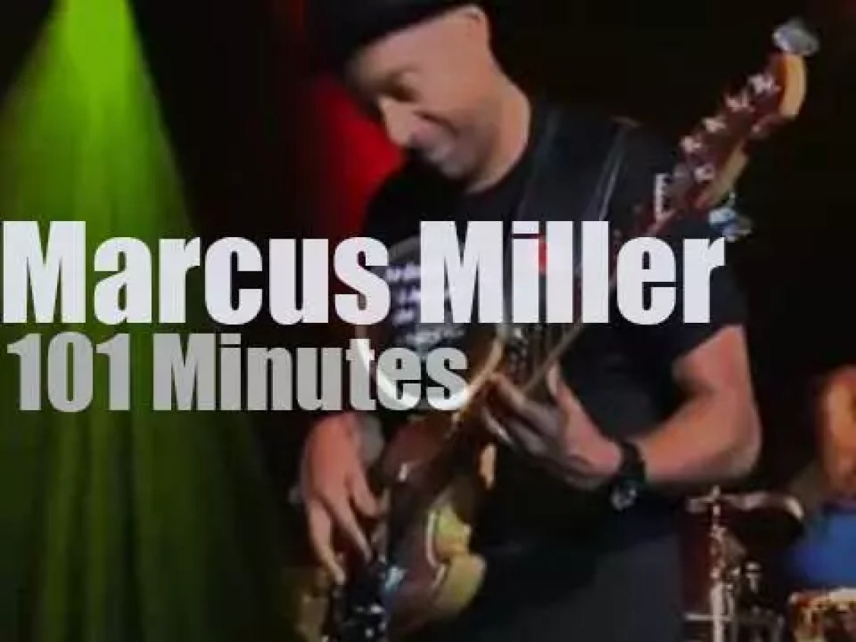 Marcus Miller plays at 'Leverkusener Jazztage' (2015)