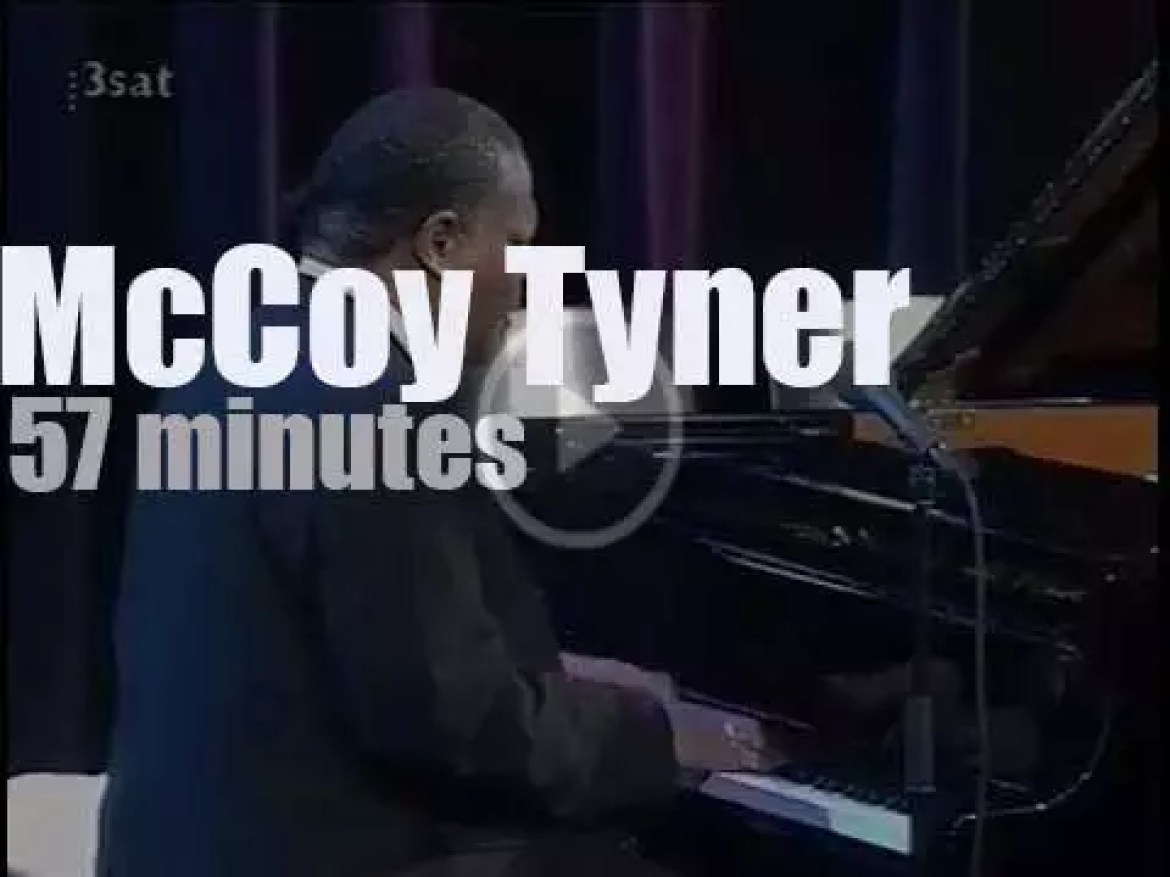 McCoy Tyner takes his Trio to Berlin (1997)