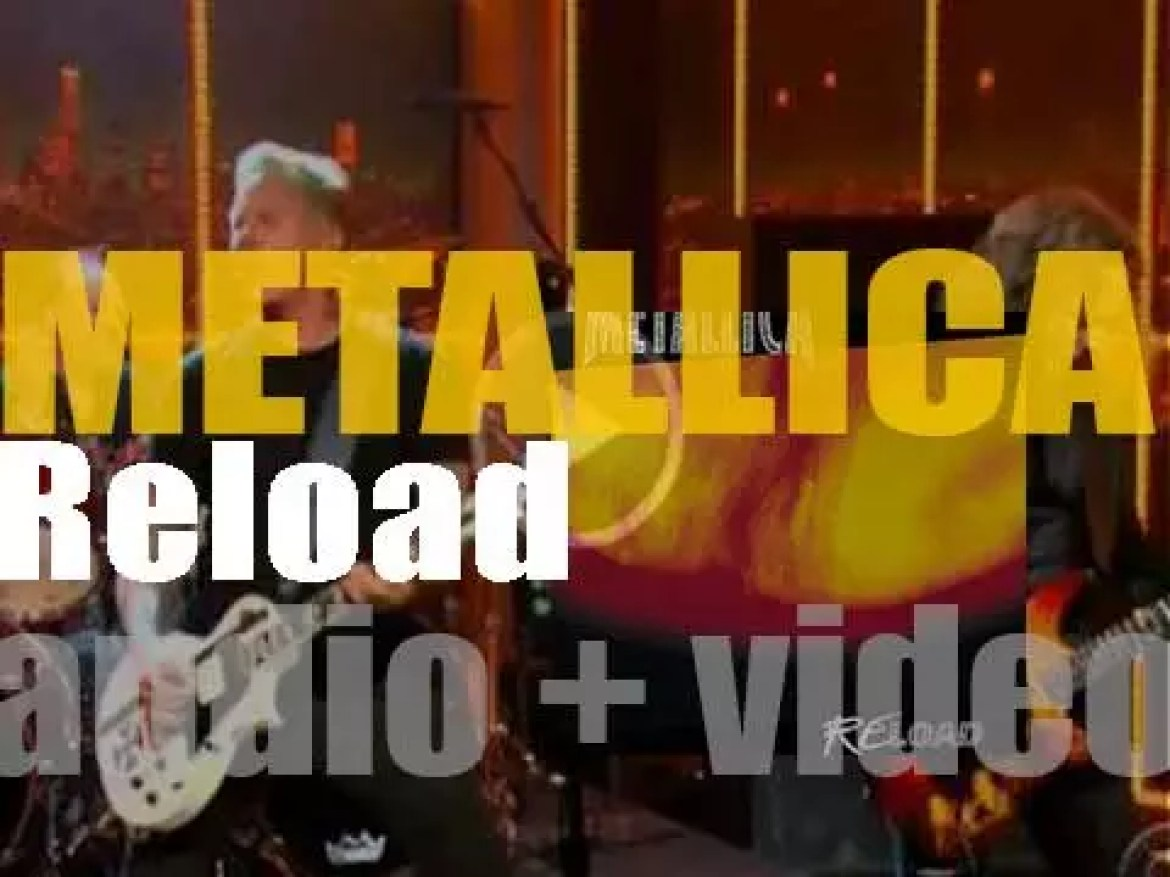 Elektra publish Metallica's seventh album : 'Reload' featuring 'The Memory Remains' and 'Fuel' (1997)