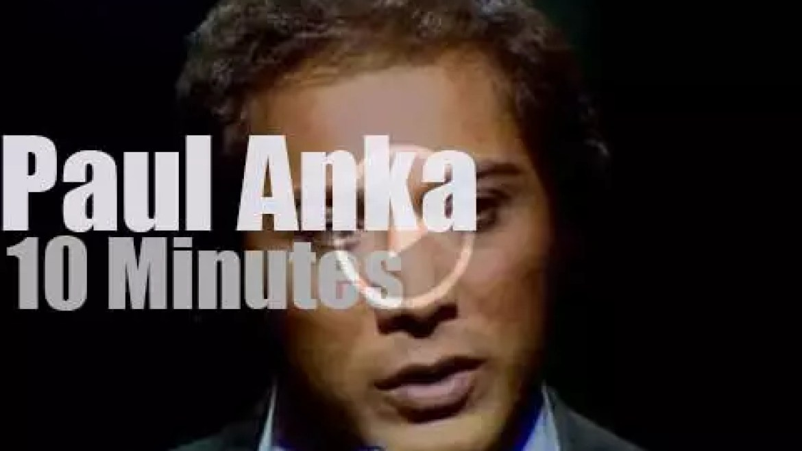 Paul Anka sings in London (1974)