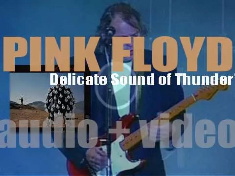 EMI publish Pink Floyd's 'Delicate Sound of Thunder,'  a double live album (1988)