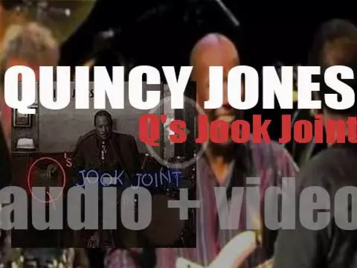 Quincy Jones releases 'Q's Jook Joint,' an album featuring Stevie Wonder, Bono and Ray Charles among other famous guests (1995)