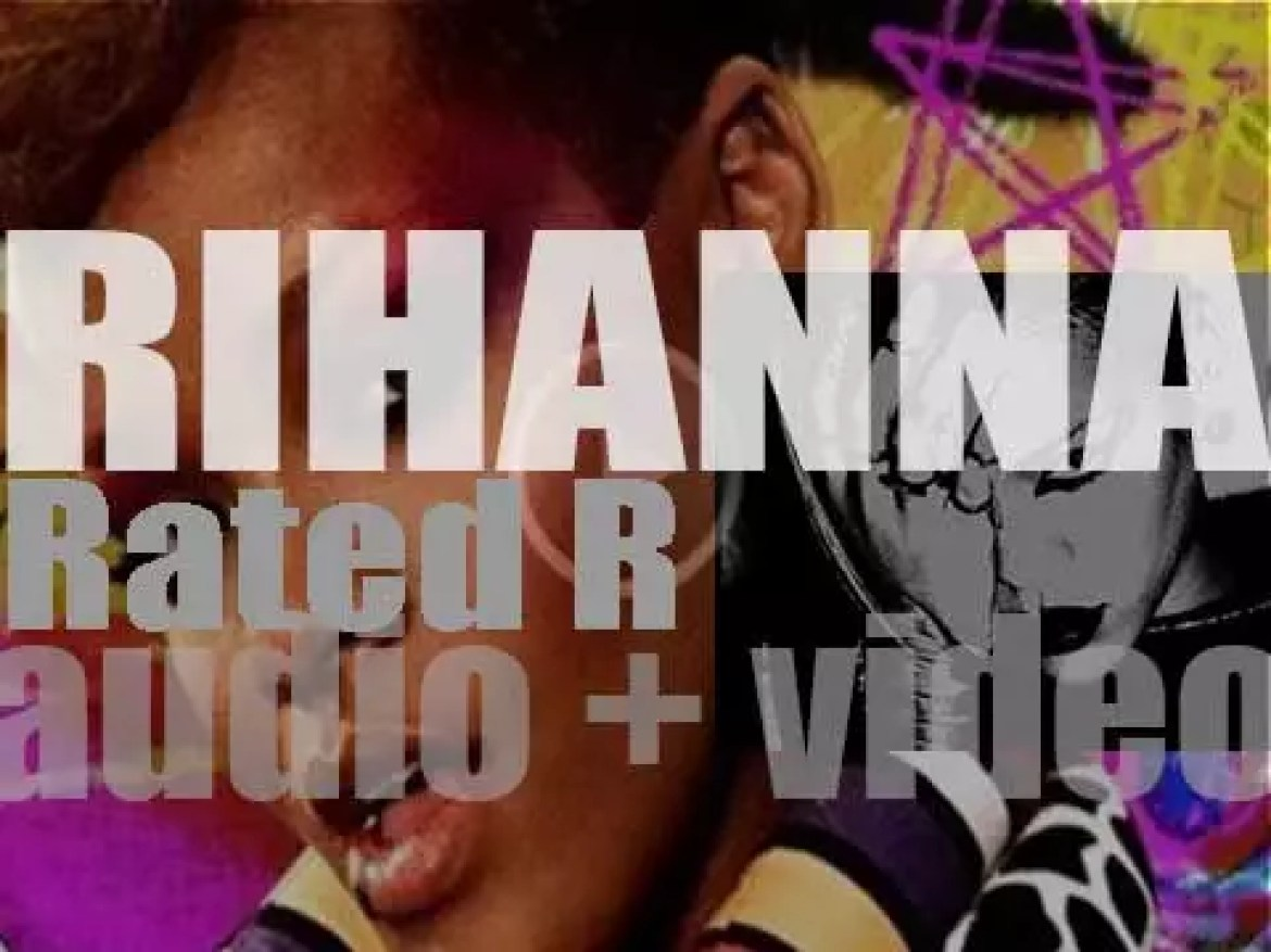 Rihanna releases her fourth album : 'Rated R' featuring 'Russian Roulette,' 'Hard,' 'Rude Boy,' and 'Te Amo' (2009)