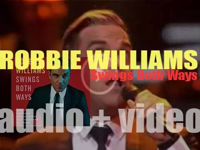 Island publish Robbie Williams' tenth album : 'Swings Both Ways' (2013)
