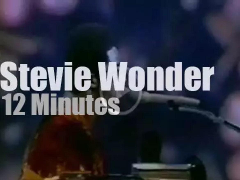 On TV today, Stevie Wonder at 'Soul!' (1972)