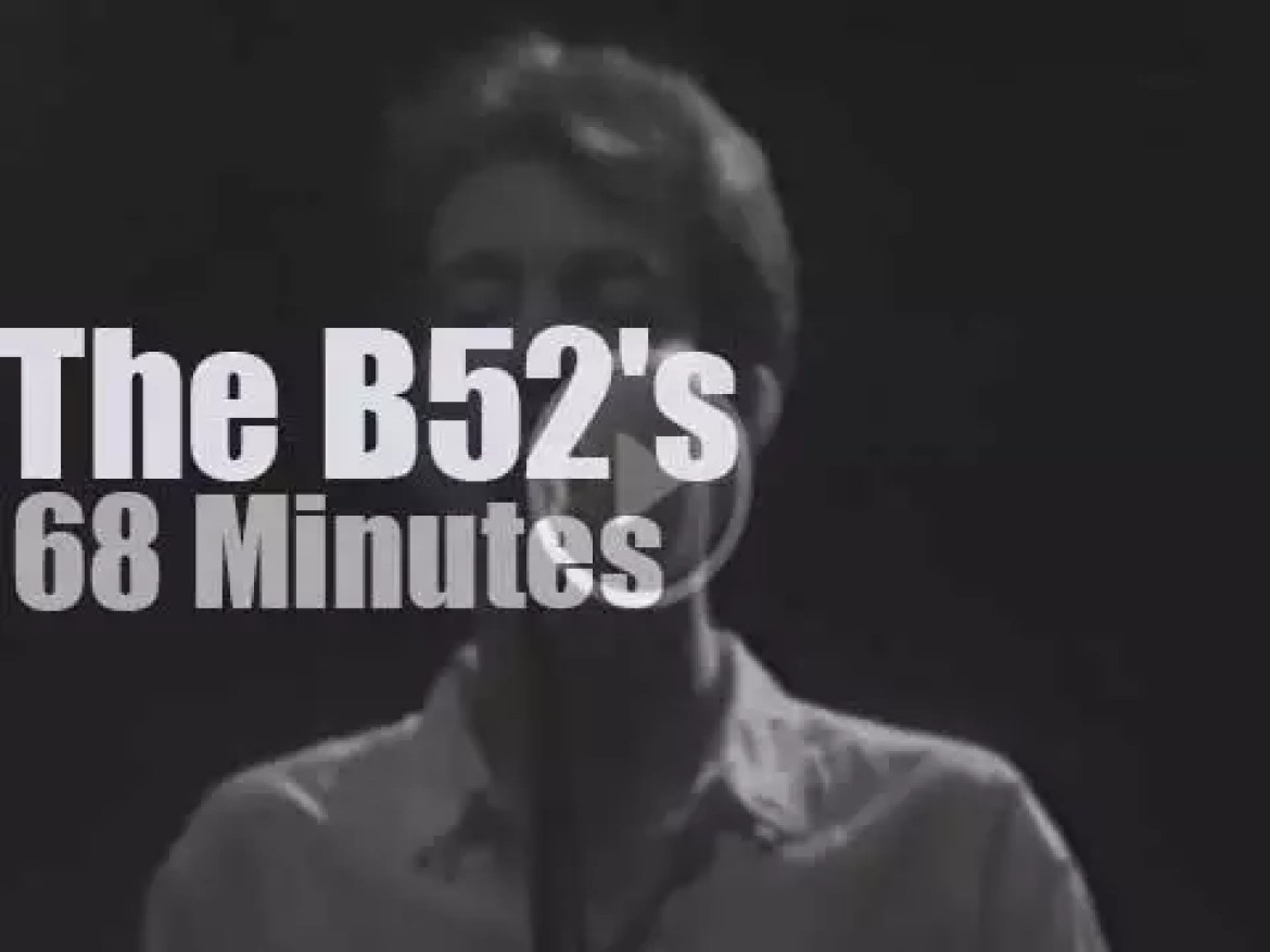 The B52's land in New Jersey (1980)