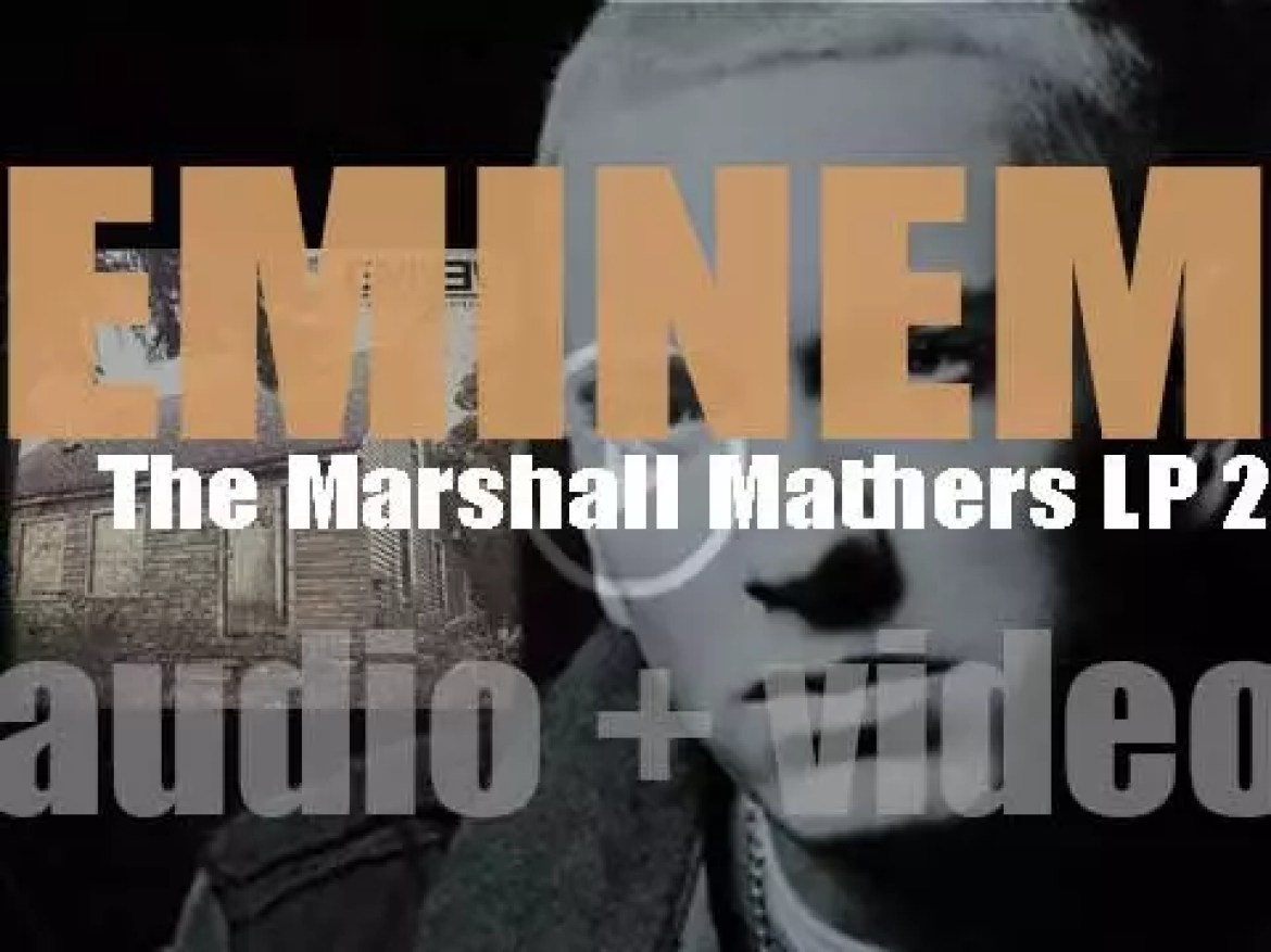 Eminem releases his eighth album :'The Marshall Mathers LP 2′ featuring 'Berzerk,' 'Rap God' and 'The Monster' (2015)