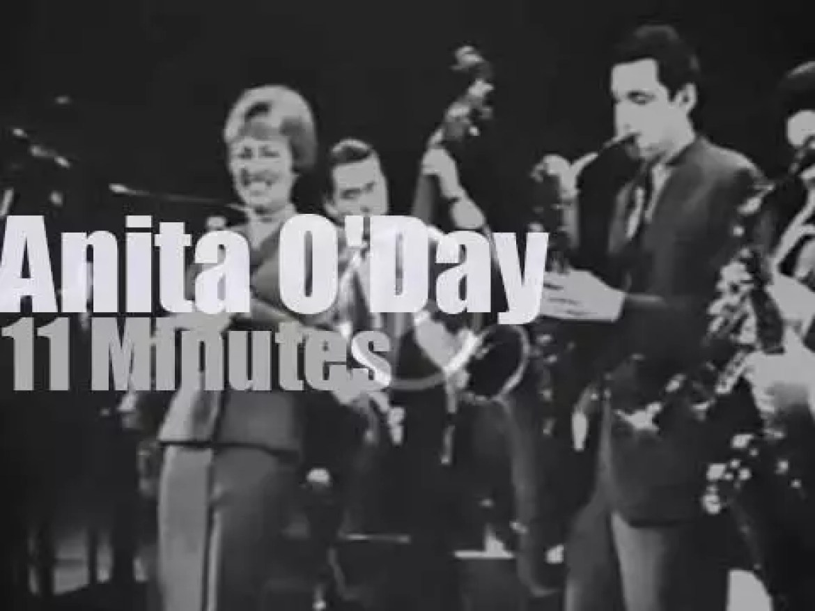 On TV today, Anita O'Day in Tokyo (1963)