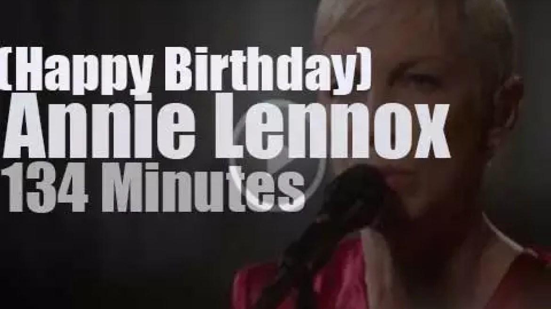 Happy Birthday Annie Lennox